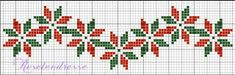 ESQUEMAS NAVIDEÑOS punto de cruz,cross stitch,point croix,punto croce.(¨*❤xXx❤*¨)