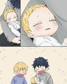 Anime Kawaii, Anime Chibi, Manga Anime, Anime Dad, Fanarts Anime, Anime Guys, Anime Characters, Manga Cute, Cute Anime Pics
