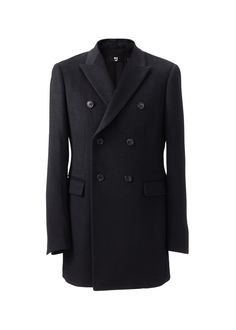 Uniqlo +J Cashmere Blended Wool Double Breasted Coat $349.90