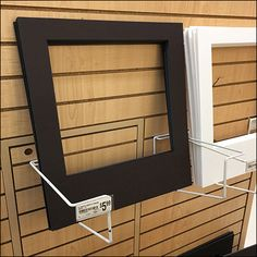 Slatwall Photo Mat Frame Holder Framing Supplies, Retail Fixtures, Photo Booth Frame, Slat Wall, Trays, Hooks, Literature, Stationery, Literatura