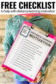 21 Genius Tips for Distance Learning Motivation - Lucky Little Learners Home Learning, Learning Resources, Teaching Tools, Learning Spaces, Teacher Resources, Teaching Ideas, Flipped Classroom, School Classroom, Google Classroom