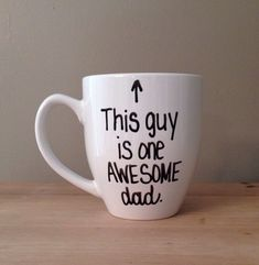 This guy is one awesome dad mug mug for dad by simplymadegreetings, $15.00