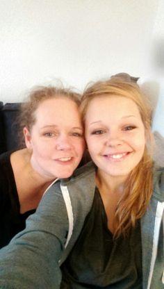 Mig og ældste datteren
