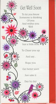 Short Get Well Soon Messages | Get well soon