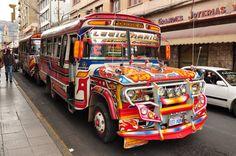 Cochabamba, Bolivia. I take this bus every day :)
