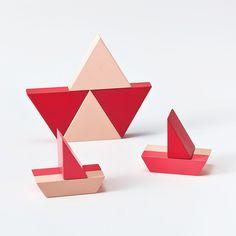 KUUM, bloco de montar com design e cores
