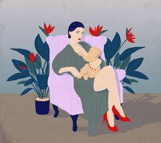 German illustrator Laura Breiling and her form of feminist self-expression through illustrations Art And Illustration, Illustrations And Posters, World Breastfeeding Week, Art Minimaliste, Street Art, Feminist Art, Grafik Design, Art Design, Art Plastique