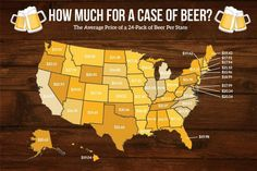 Beer in NC is cheaper than in 46 other U.S. states