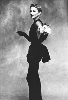 Woman with Roses, Paris Collection  © Irving Penn