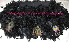 Feather Skirt DIY   ...love Maegan Black Swan Costume, Fur Skirt, Feather Skirt, Peacock Feathers, Diy Fashion, Sewing Projects, Costumes, Skirts, Style
