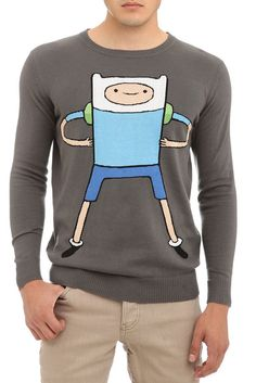 Suéteres de Finn y Jake de Adventure Time