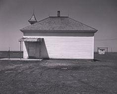 WRIGHT MORRIS, White Schoolhouse, Nebraska, ca. 1947