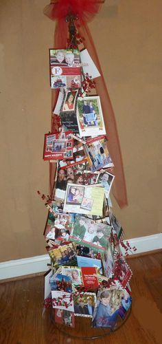 Room Mom Extraordinaire: Christmas Card Holder