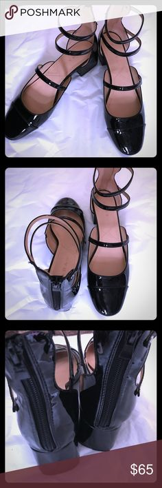 Zara TRF Patent Leather Strappy Sandals -Sz 38 New without Tags. Super cute! -Sz 38 Zara Shoes