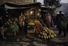 Amazing light and colours, by Steve McCurry, Pul-e-Kumri, Afghanistan