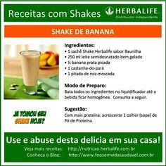 Foco em Vida Saudavel Herbalife — Receitas deliciosas com SHAKE HERBALIFE, use e...
