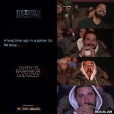 This will be the reaction of every Star Wars fan..