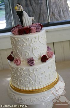 piping wedding cake designs 1000 images about scroll wedding cakes on 18614