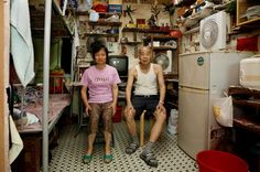 100 square foot apartment in Hong Kong