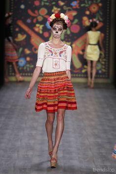 Lena Hoschek embroidered blouse