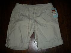 NWT MOSSIMO SUPPLY CO BERMUDA KHAKI SHORTS, SZ 5. EXCELLENT CONDITION! #Mossimo #BermudaWalking