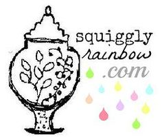 Squiggly Rainbow | home
