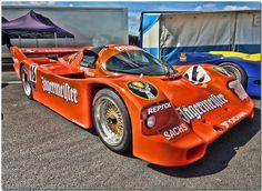 """1984 Brun """"Jagermeister"""" Porsche 956 Group C Car."""