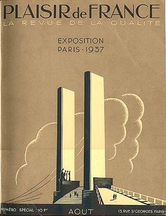 """Plaisir de France - Exposition Paris - 1937"""