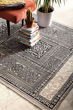 Magical Thinking Adalaj Rug - Urban Outfitters