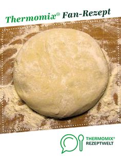 Pizzateig schnell & lecker Pizza dough quick & delicious by strolling. A Thermomix ® recipe from the Basic Recipes category www.de, the Thermomix ® community. Potluck Desserts, Dessert Recipes For Kids, Healthy Dessert Recipes, Easy Desserts, Pizza Dough, Pizza Hut, Holiday Recipes, Elegant Desserts, Family Gatherings