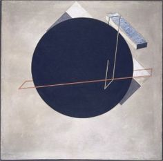 """feromona: """" Proun 8 Stellungen (Proun 8 Positions), Oil and gouache with metal foil on canvas, x cm, El Lissitzky, 1923 """" Art Inuit, Abstract Expressionism, Abstract Art, Russian Constructivism, Kazimir Malevich, 1 Tattoo, Exhibition Display, Art Database, Art Moderne"""