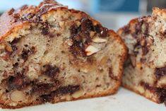 Banankage med chunky chokoladestykker | Anna-Mad blog