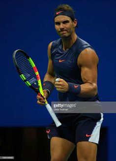 Rafael Nadal move to third round in US Open 2018 Tennis Rafael Nadal, Nadal Tennis, Maria Sharapova, Serena Williams, Roger Federer, Osaka, Federer Nadal, Equipe Real Madrid, Pro Tennis