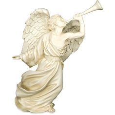 AngelStar Gabriel Archangel Figurine, 8-3/4-Inch Tall ($23) ❤ liked on Polyvore featuring home and home decor