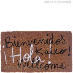 Laroom - Felpudo marrón - Laroom diseña y fabrica productos para el hogar y la vida - www.laroom.com Sweet Home, Ideas Para, Home Decor, Google, Farmhouse Rugs, Welcome Mats, House Decorations, Originals, Entryway