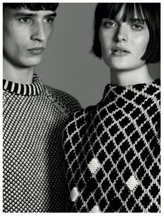 Adrien Sahores and Sam Rollinson for Pringle of Scotland aw14 campaign.
