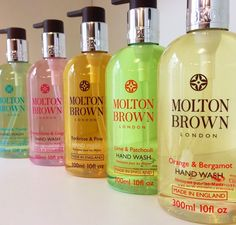 Classic.  Molton Brown Handwashes