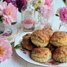 Rose Lemonade Scones recipe
