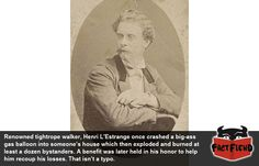 Henri L'Estrange may not be a name many of you are familiar with but it totally should be because he's probably one