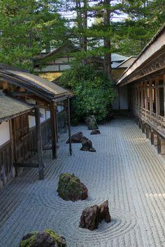 Japanese Garden Zen, Japan Garden, Japanese Landscape, Urban Landscape, Landscape Design, Garden Architecture, Japanese Architecture, Zen Garden Design, Wakayama