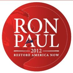 Ron Paul 2012 - I've got the button!