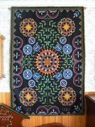 seinävaate Folk Embroidery, Beaded Embroidery, Scandinavian Embroidery, Folk Art, Textiles, Beads, Vintage, Mexico, Modern
