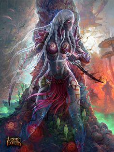 Realm-of-Fantasy on DeviantArt Fantasy Art Women, World Of Fantasy, Dark Fantasy Art, Fantasy Girl, Fantasy Artwork, Elfen Fantasy, Fantasy Female Warrior, Warrior Angel, Female Elf