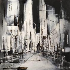 o.t. - mixed media on canvas - 40x40 - ©atelier meintke&behder - www.atelier-meintkebehder.de