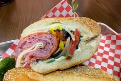 Find the Best Italian Combo (and Richie Podvesker) at SoHo Subs in Coral Springs Coral Springs Florida, Italian Sub, Places To Eat, Soho, Restaurant, Good Things, Drink, Beverage, Diner Restaurant