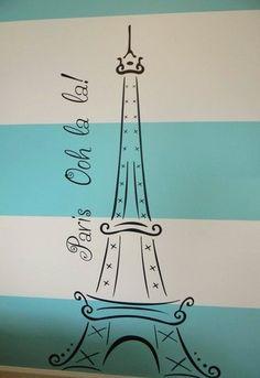 Paris Theme Bedrooms Design, Pictures, Remodel, Decor and Ideas