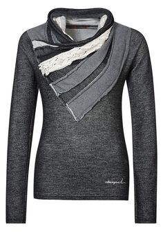 Desigual - DULCE - Sweater - Black. Cool, but I doubt I could pull it off.