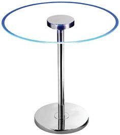"""Kenroy Home 32176GCH Spectral LED Table Kenroy Home $120.  20"""" high 20"""" wide.  Need to plug in.  http://www.amazon.com/dp/B0069IIAHM/ref=cm_sw_r_pi_dp_dTuJub16ZDN9K"""