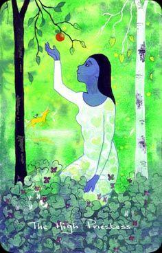 The Wild Green Chagallian Tarot