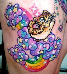Abrimos sección internacional de la mano de Laura Anunnaki, que desde México nos presenta un estilo tan dulce que rompe los esquemas de cualquier tatuador.